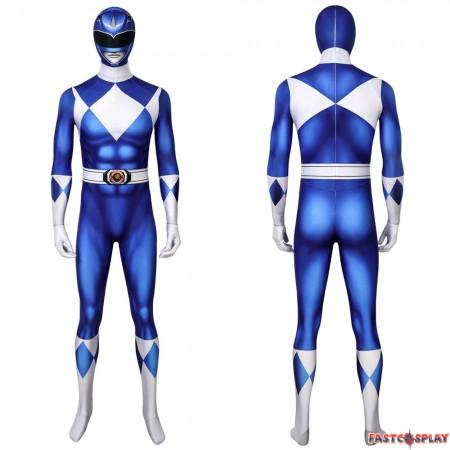 Tricera Ranger Dan Blue Power Rangers 3D Jumpsuit