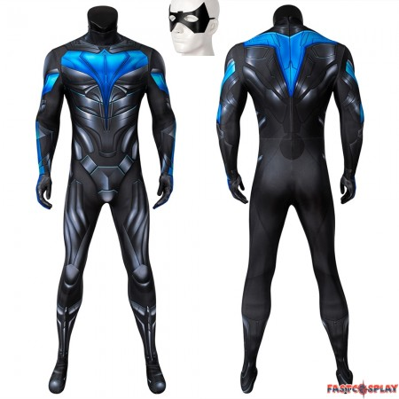 TV Titans Nightwing 3D Jumpsuit