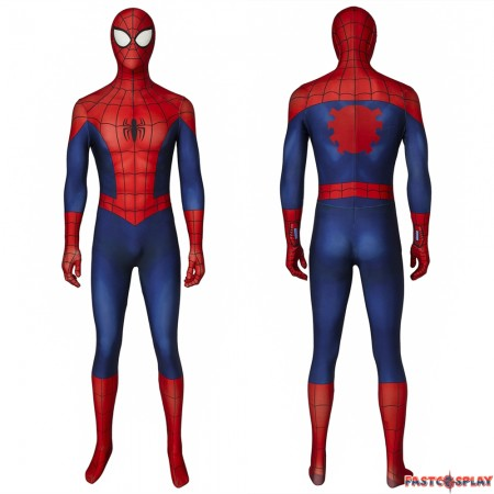 Ultimate Spider-Man Peter Parker 3D Jumpsuit Zentai