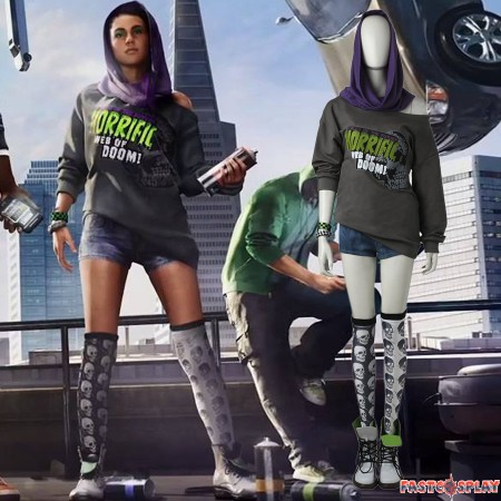 Watch Dogs 2 Sitara Cosplay Costume - Deluxe Version