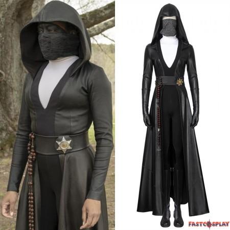 Watchmen Season 1 Sister Night Angela Abar Cosplay Costume