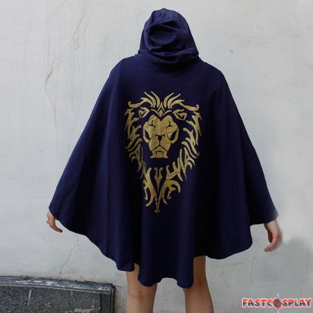 World Of Warcraft Stormwind Alliance Cosplay Cloak