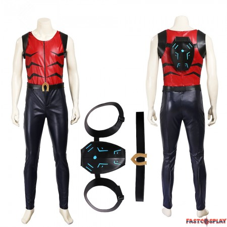 Young Justice Aqualad Kaldur'ahm Cosplay Costumes