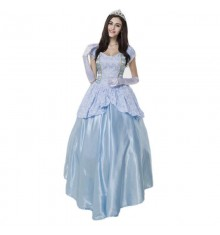 Disney Cinderella Adult Fancy Dress Cosplay Costume