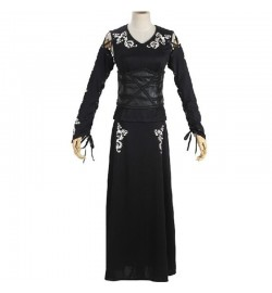 Harry Potter Bellatrix Lestrange Black Dress Cosplay Costume