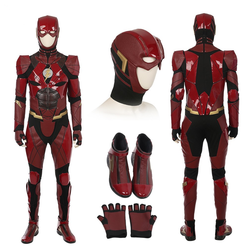 2017 New Justice League The Flash Cosplay Costumes