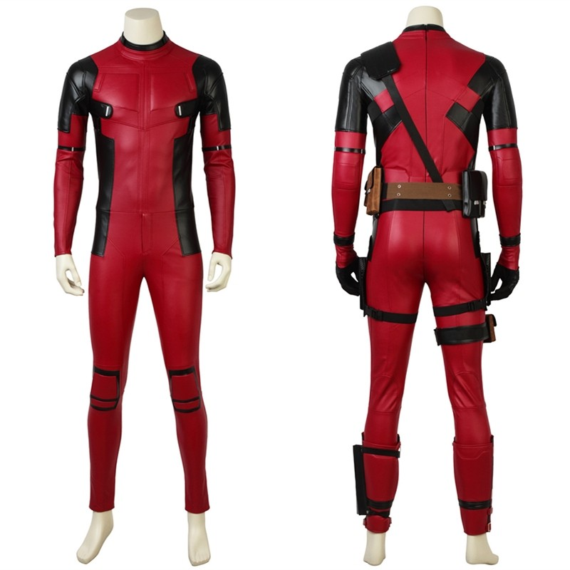 2018 Deadpool 2 Cosplay Costume Wade Wilson Costume - Deluxe Version
