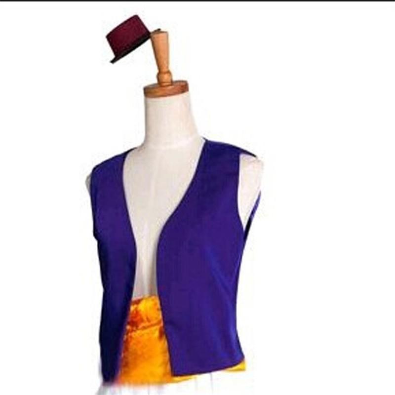 Disney Aladdin Prince Halloween Party Cosplay Costume