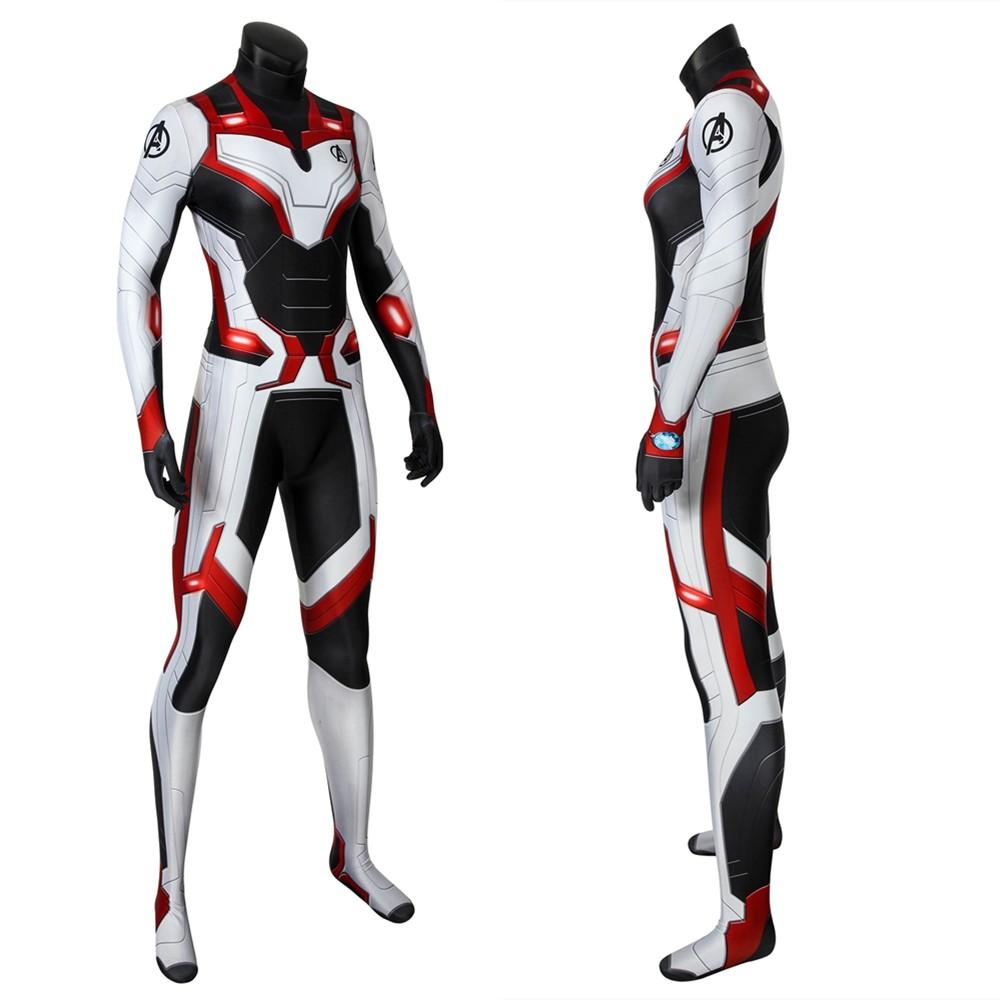 Avengers: Endgame Female Superhero Quantum 3D Zentai Jumpsuit