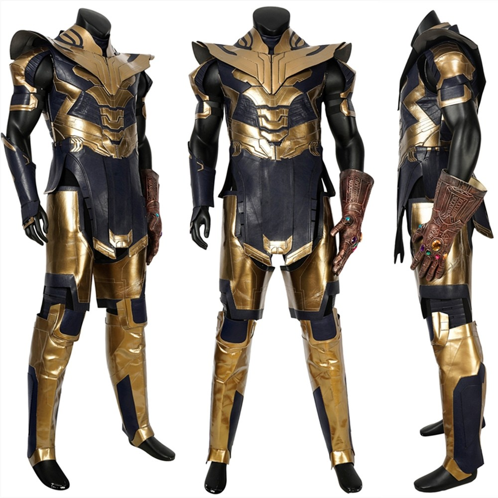 Avengers Endgame Thanos Cosplay Costume Deluxe Version