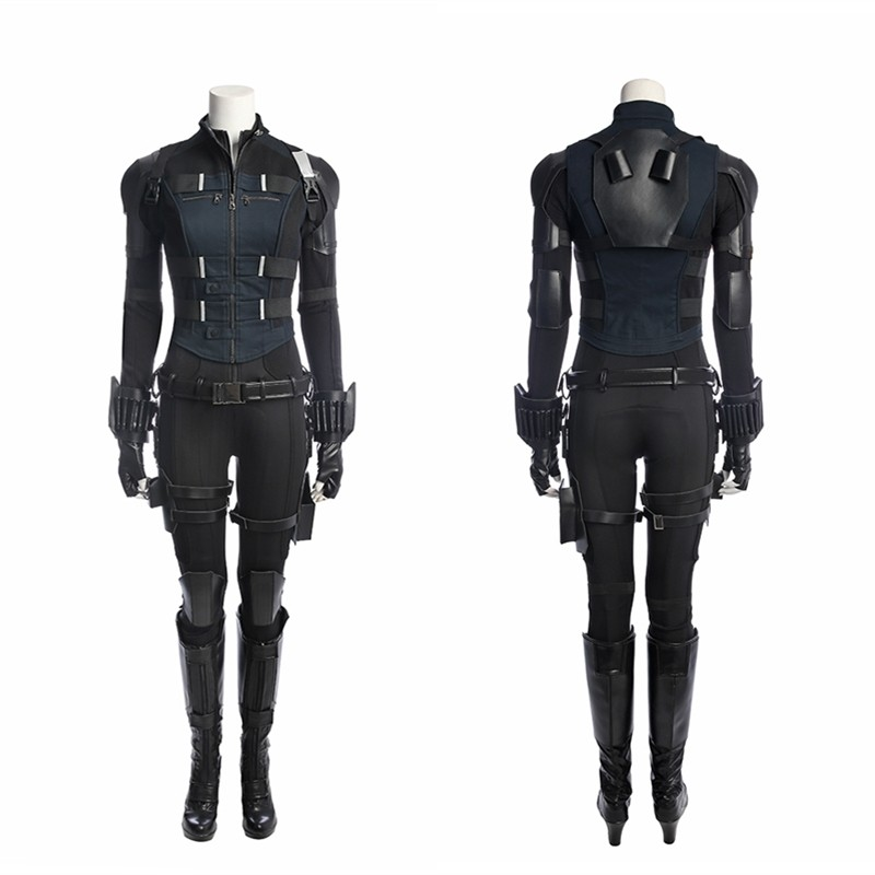 Avengers Infinity War Black Widow Costume Natasha Romanoff Cosplay Costume