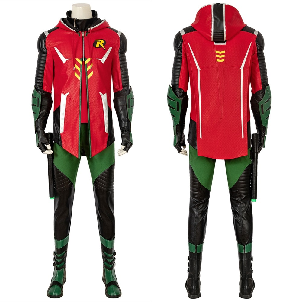 Batman Gotham Knights Robin Cosplay Costume