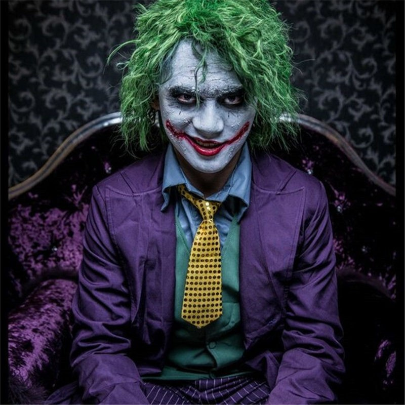 Batman The Dark Knight Joker Cosplay Deluxe Costume