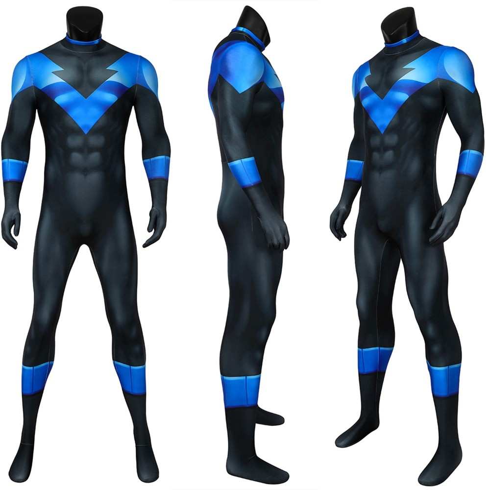 Batman: Under the Red Hood Nightwing 3D Jumpsuit
