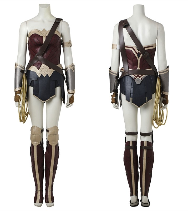 Diana Prince Wonder Woman Cosplay Costume - Deluxe Version