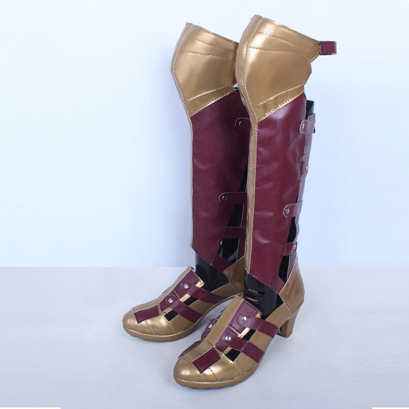 Dawn of Justice Wonder Woman Boots Cosplay Shoes