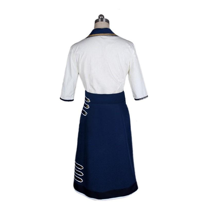 Bioshock Infinite 3 Elizabeth Daisy Fitzroy Uniform Cosplay Costume