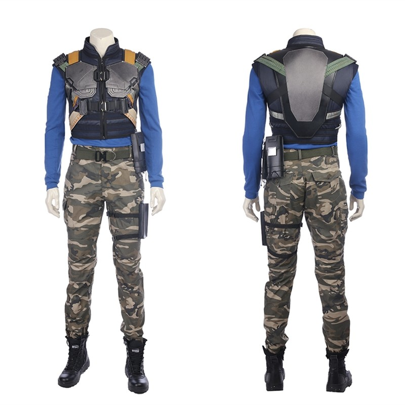 Black Panther Erik Killmonger Cosplay Costume Deluxe