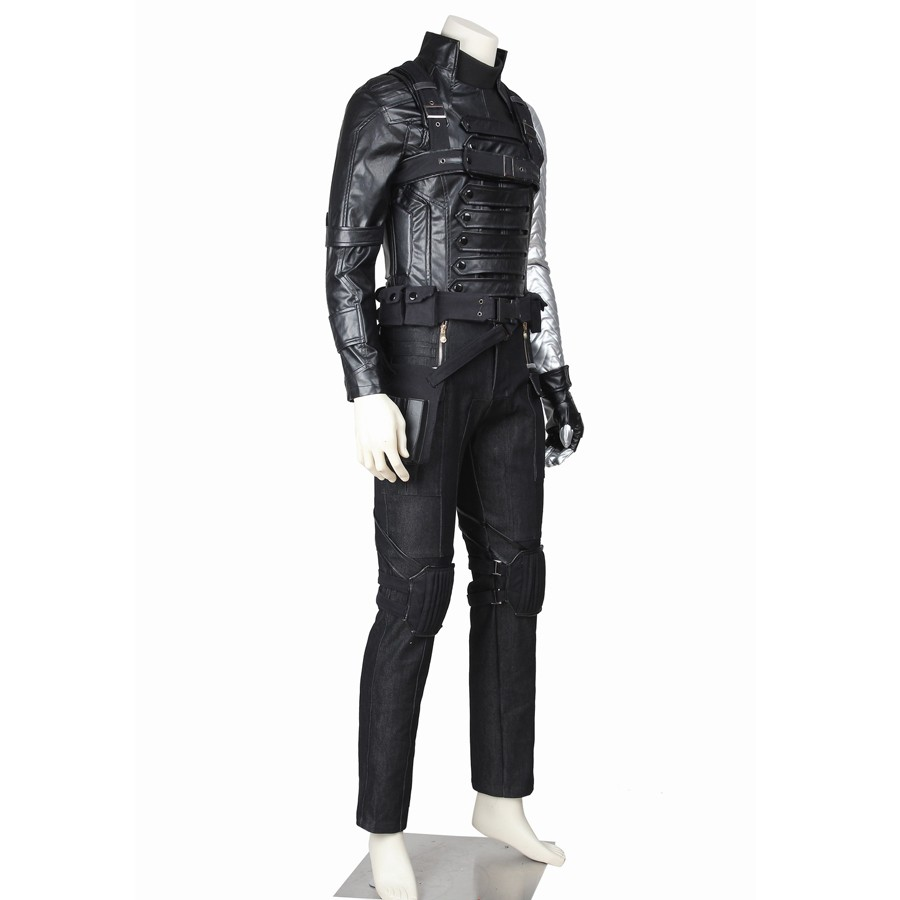 The Winter Soldier Bucky Barnes Cosplay Costume
