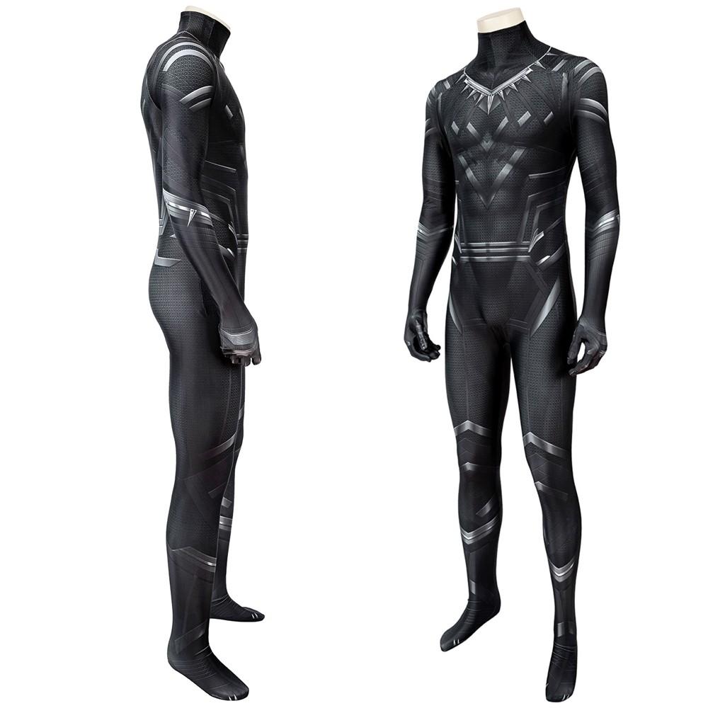 Civil War Black Panther T'Challa 3D Jumpsuit