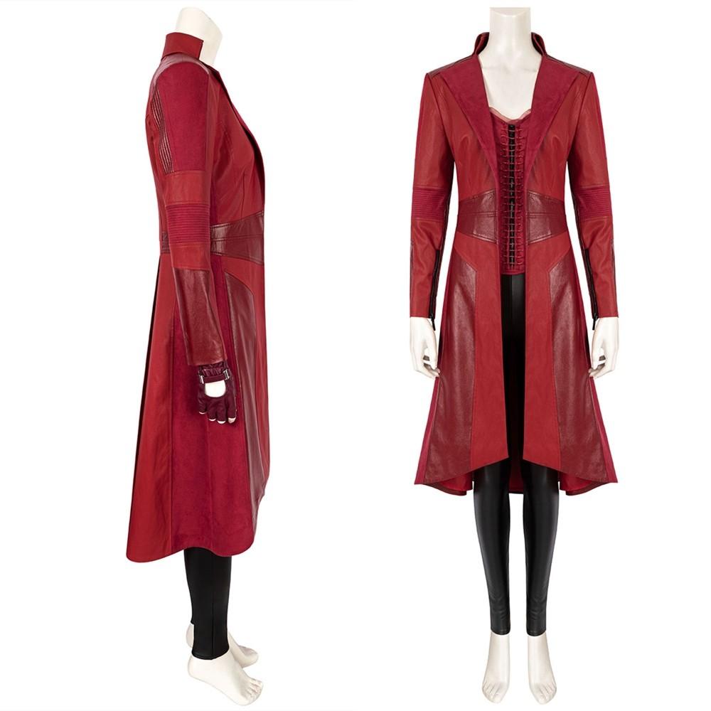 Civil War Scarlet Witch Wanda Cosplay Costume