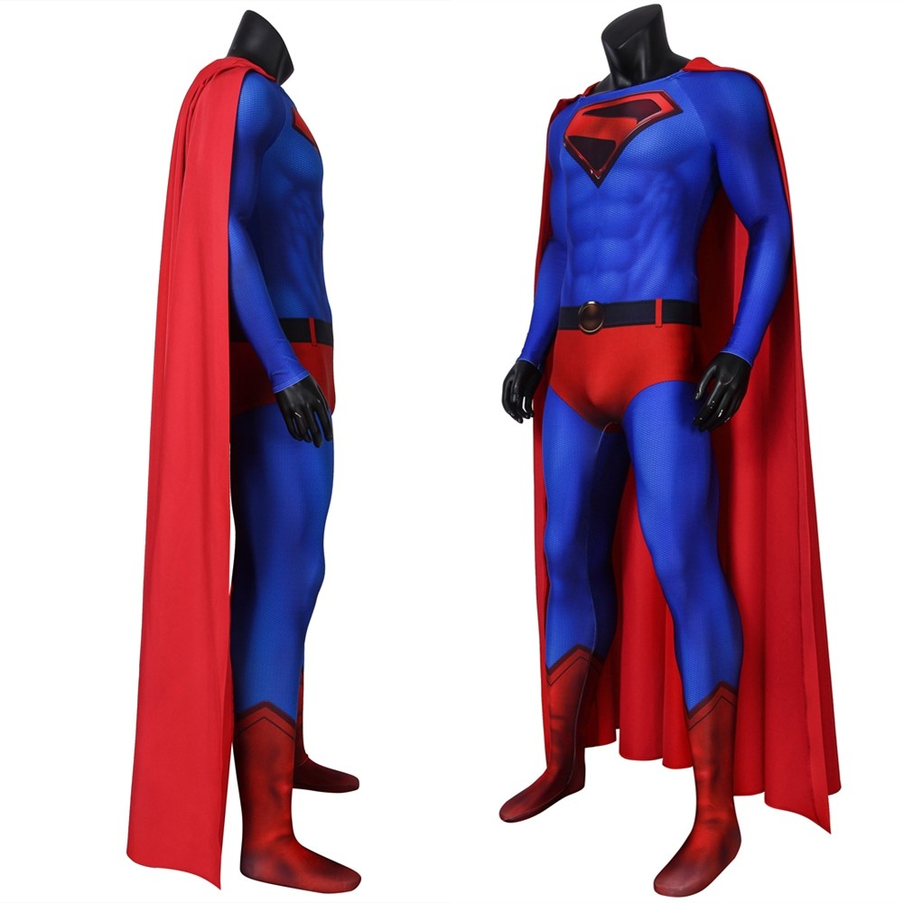 Crisis on Infinite Earths Superman 3D Jumpsuit