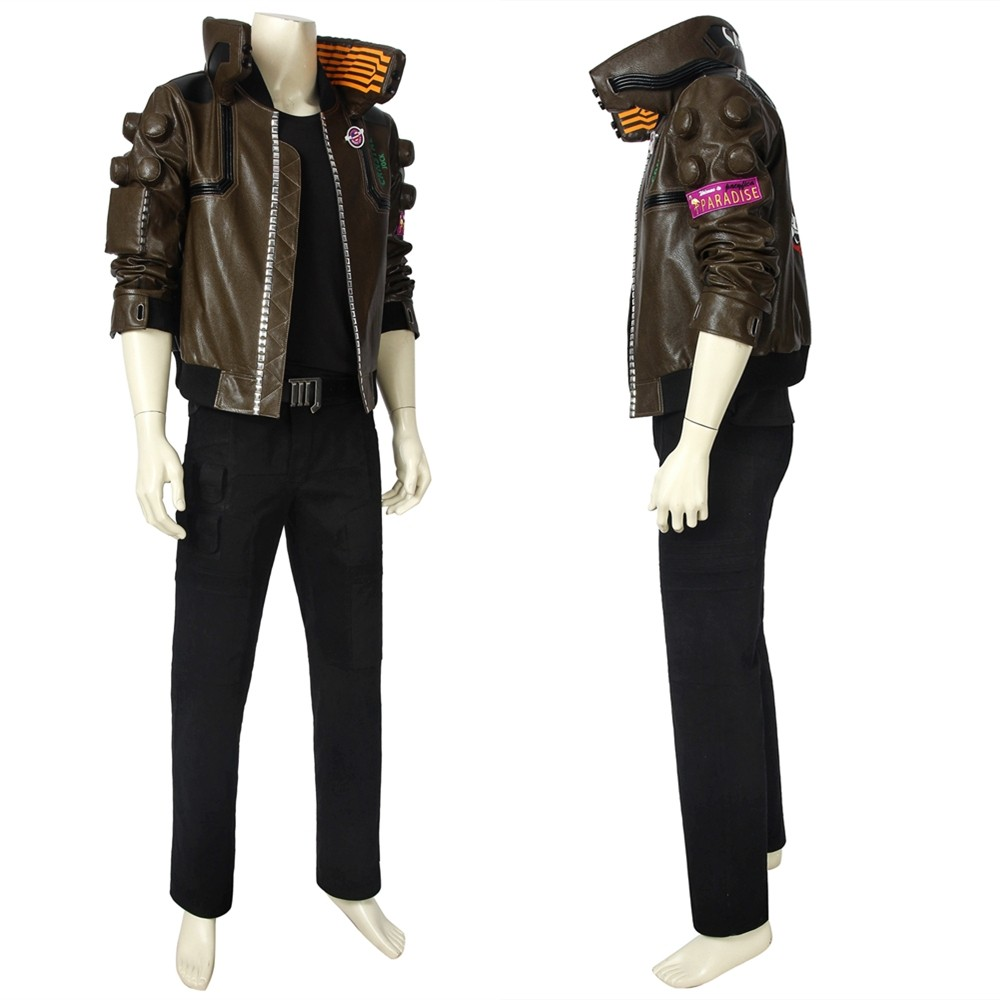 Cyberpunk 2077 V Male Cosplay Costume