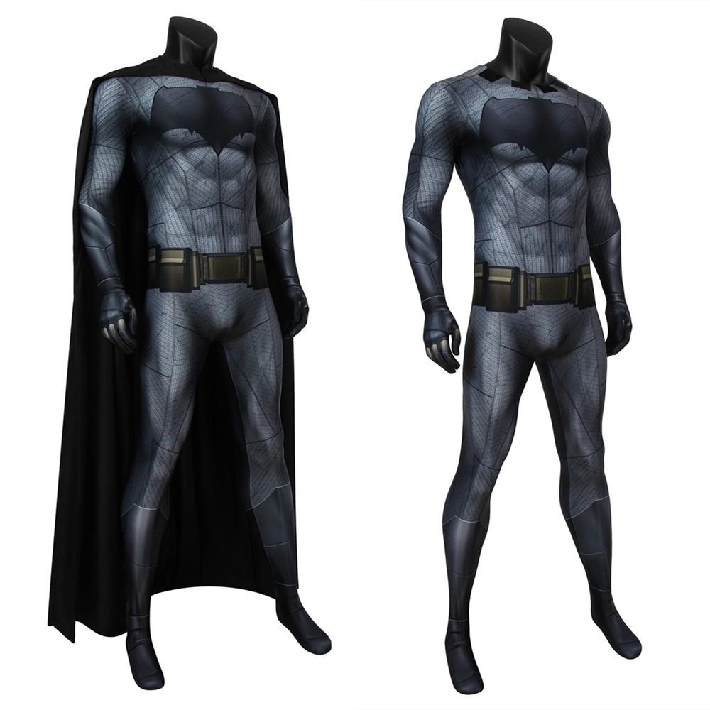 Dawn of Justice Batman Bruce Wayne 3D Zentai Jumpsuit