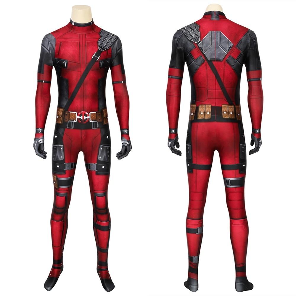 Deadpool Wade Wilson 3D Jumpsuit