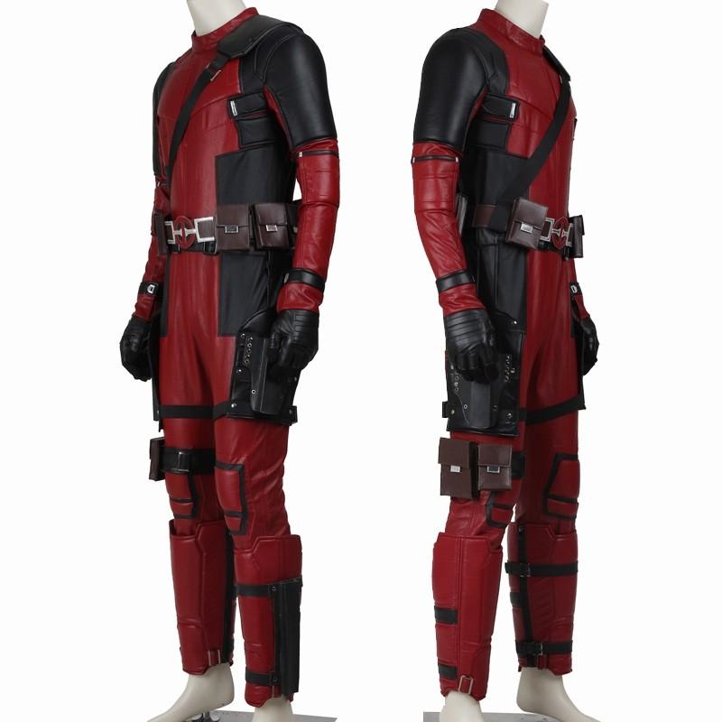 Deadpool Wade Wilson Cosplay Costume Deluxe Version