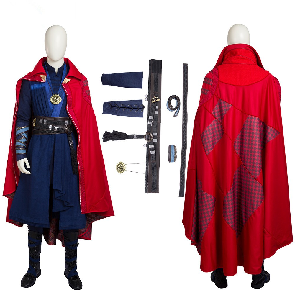 Doctor Strange Stephen Vincent Strange Cosplay Costumes - Deluxe Version