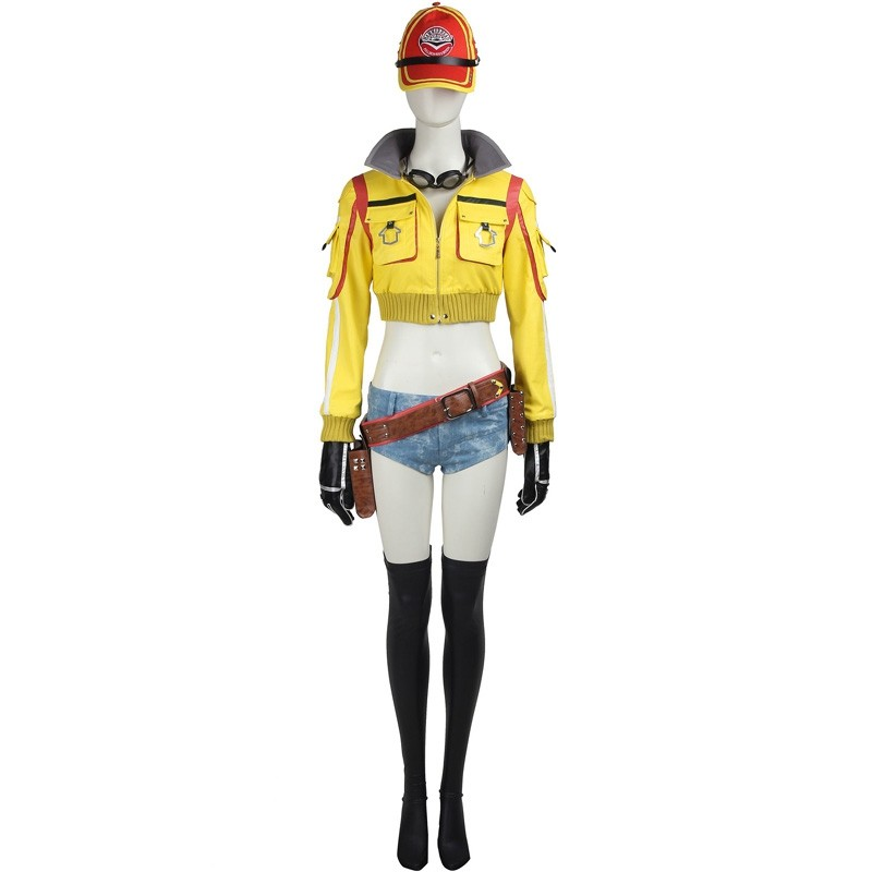 Final Fantasy XV Cindy Aurum Cosplay Costumes