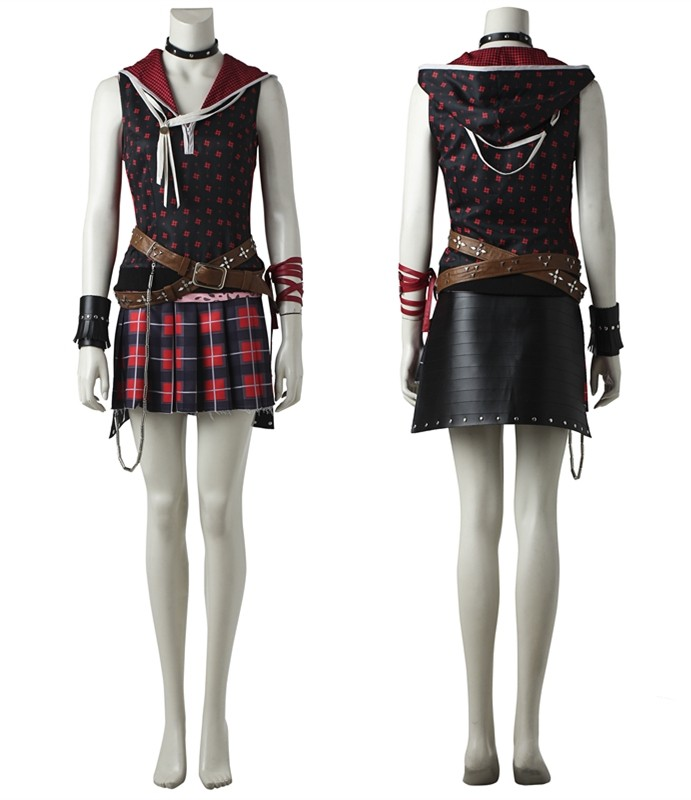 Final Fantasy XV Iris Amicitia Cosplay Costume