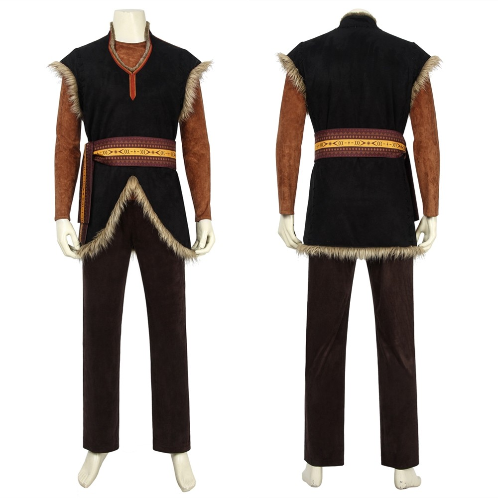 Frozen 2 Kristoff Cosplay Costume