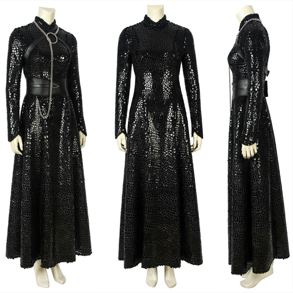Game of Thrones 8 Sansa Stark Cosplay Costume Deluxe Version