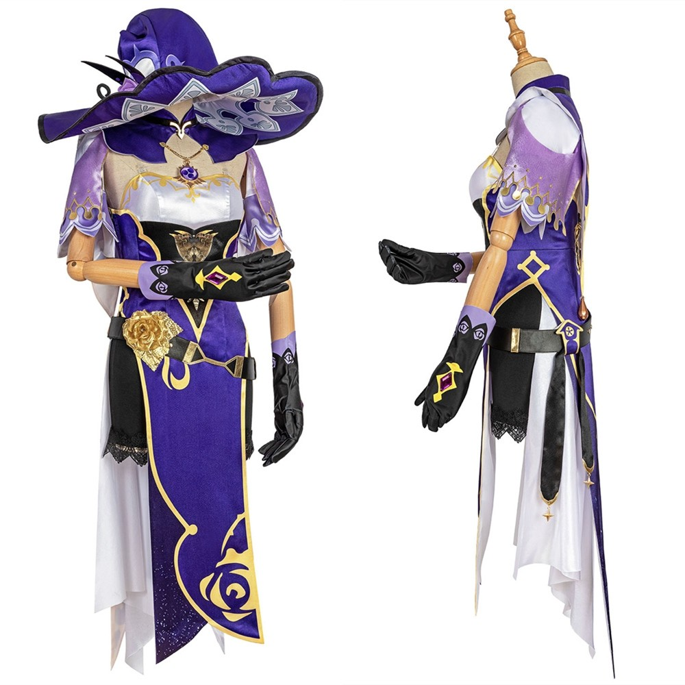 Genshin Impact Lisa Cosplay Costume