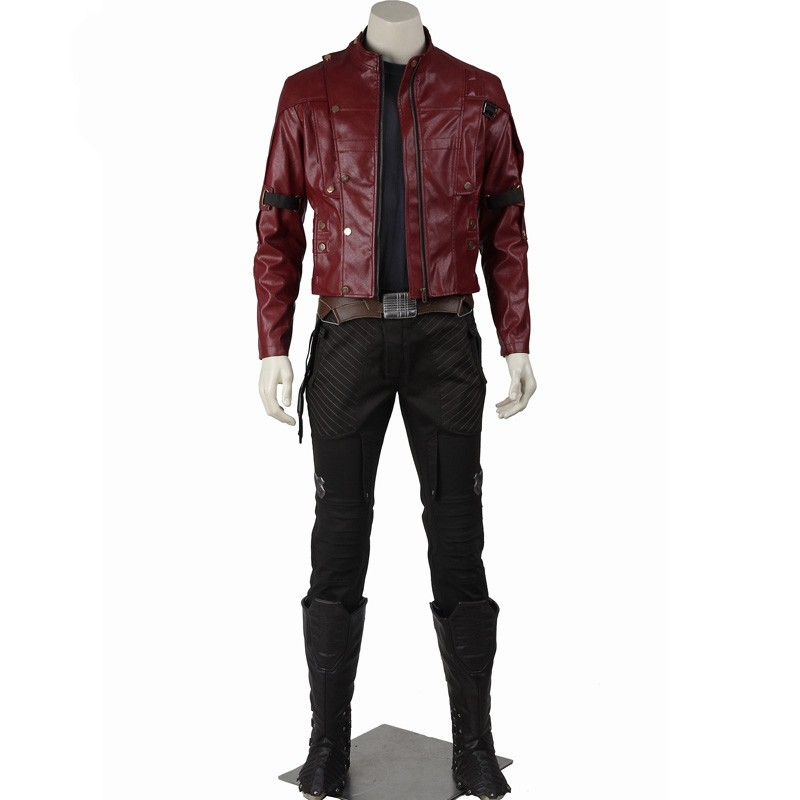 Guardians of the Galaxy Star Lord Deluxe Cosplay Costumes