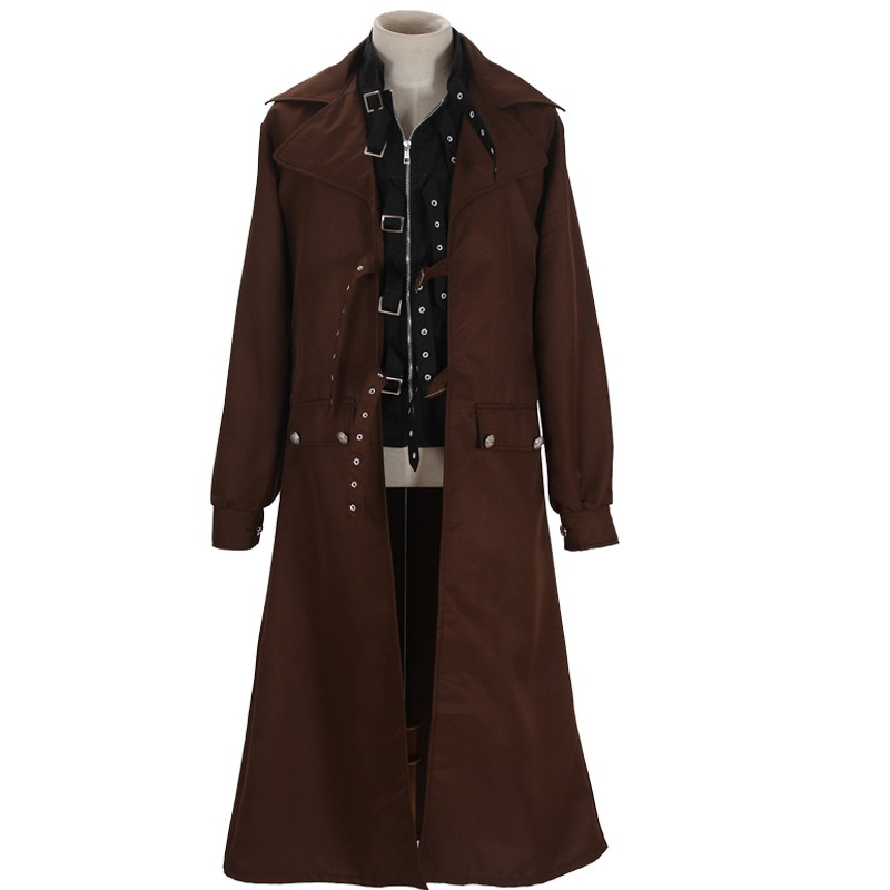 Harry Potter Alastor Moody Mad-Eye Trench Coat Cosplay Costume