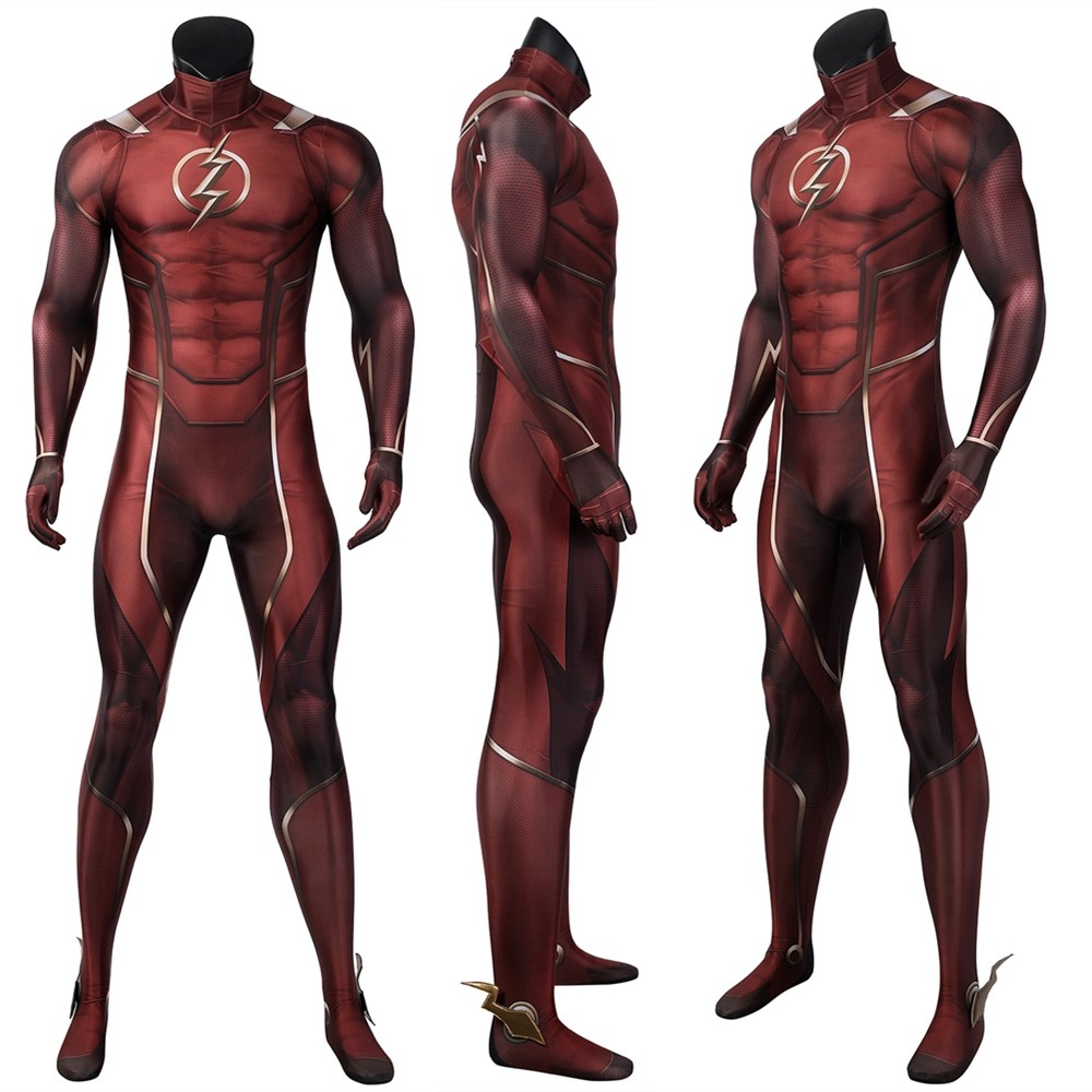 Injustice 2 The Flash 3D Cosplay Suit