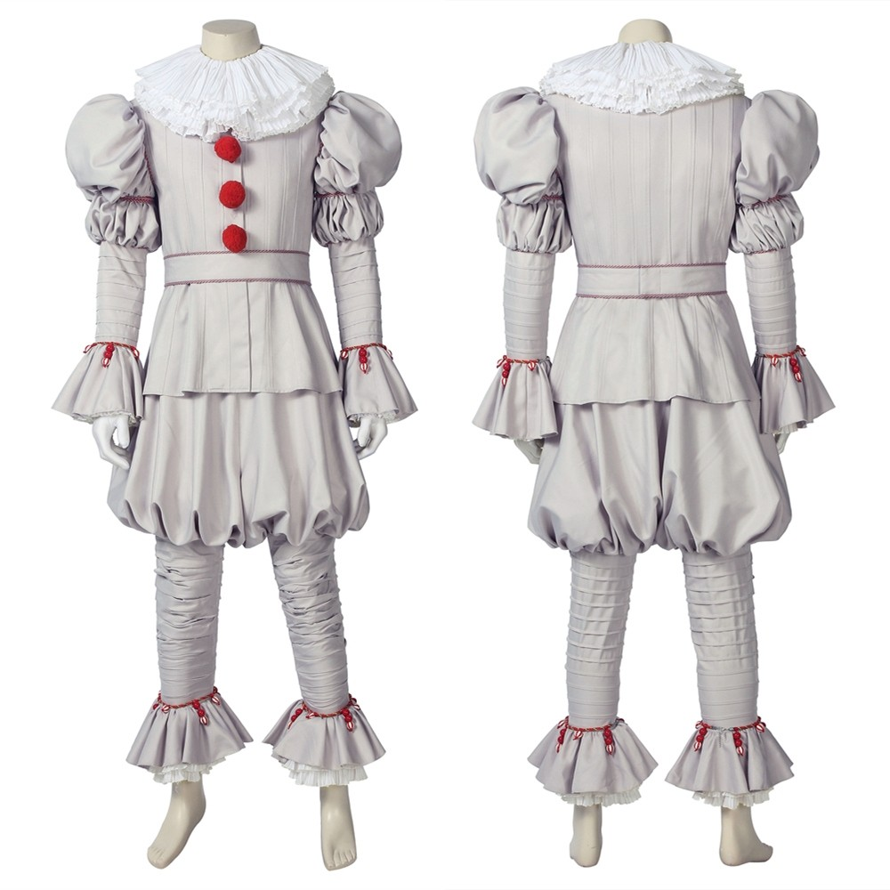 It: Chapter Two Pennywise Clown Cosplay Costume
