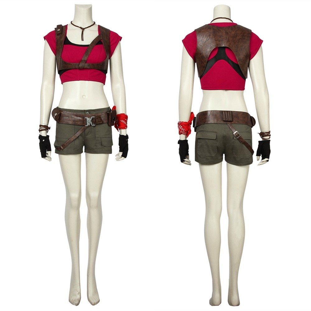 Jumanji Ruby Roundhouse Cosplay Costume