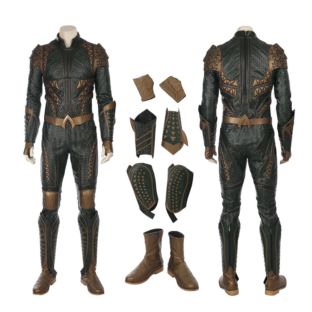 Justice League Aquaman Orin Arthur Curry Cosplay Costume Deluxe