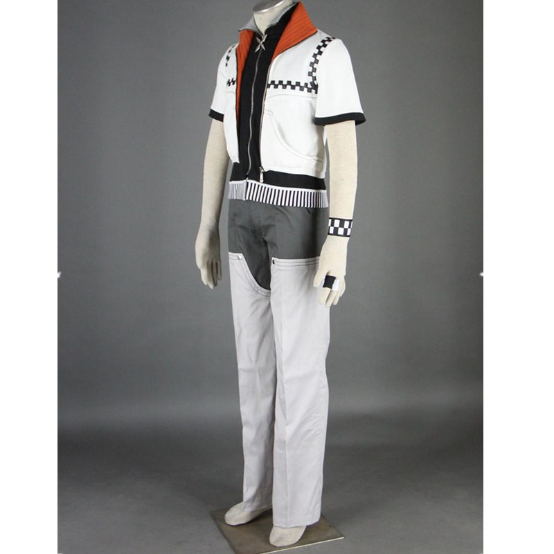 Kingdom Hearts II Roxas Outfit Cosplay Costume