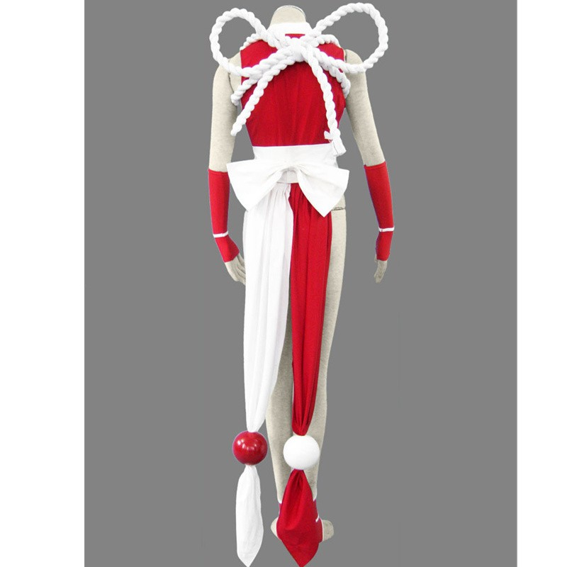 KOF THE KING OF FIGHTERS Mai Shiranui Cosplay Deluxe Costume