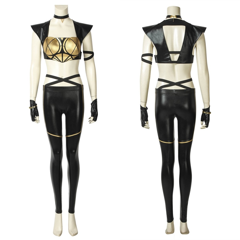 League of Legends LOL KDA Kaisa Cosplay Costume