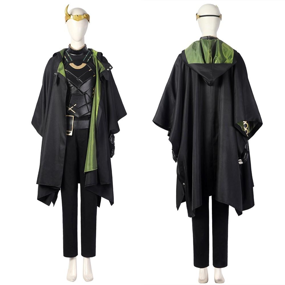 Loki Season 1 Sylvie Variant Cosplay Costume