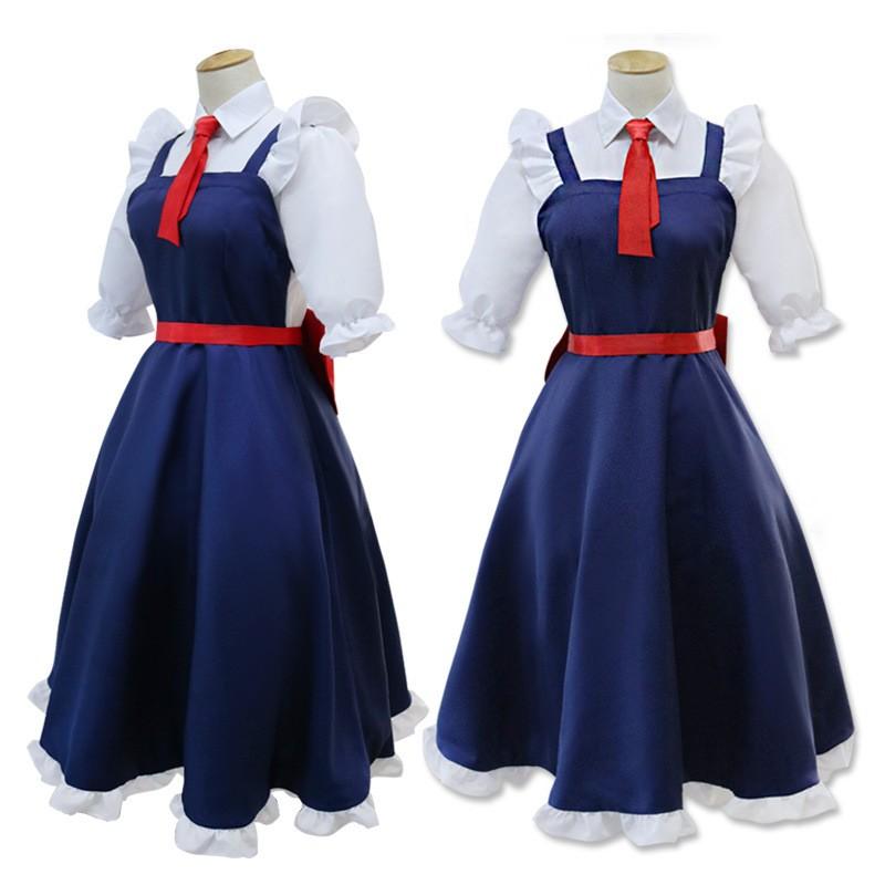 Miss Kobayashi's Dragon Maid Tohru Cosplay Costume Uniform