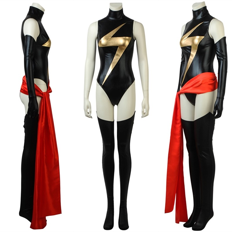 Ms. Marvel Carol Danvers Costume Cosplay