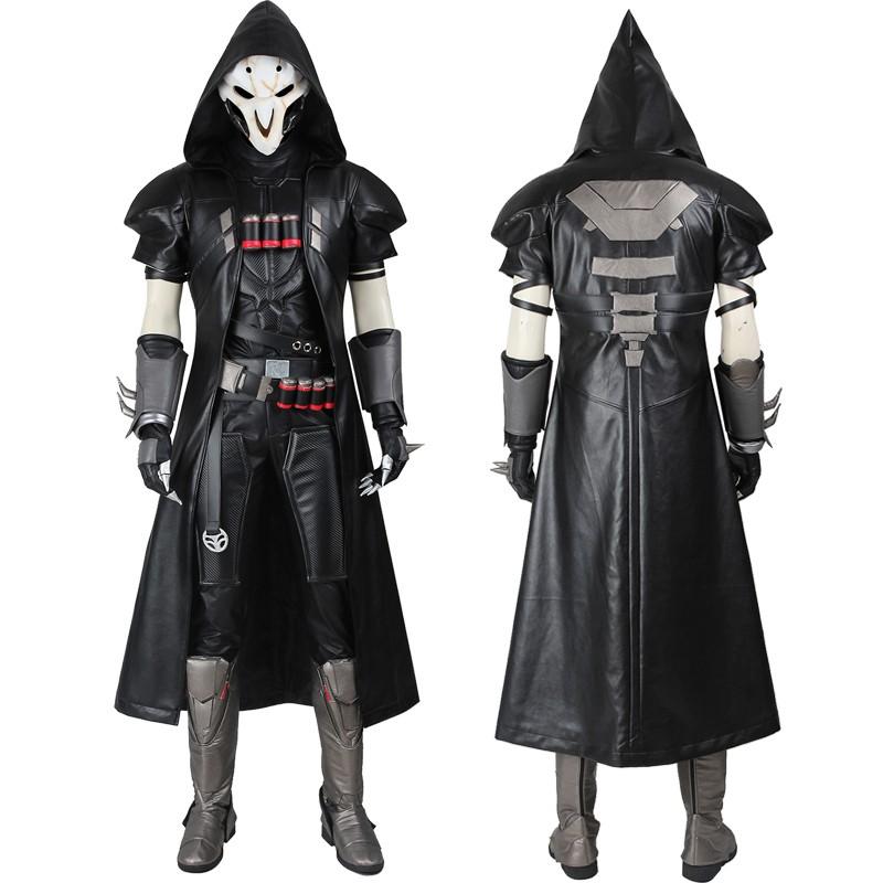 Overwatch Reaper Cosplay Costume Deluxe
