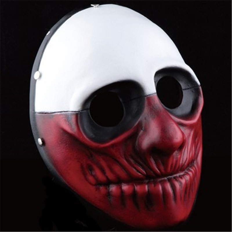 PAYDAY 2 Wolf Cosplay Mask